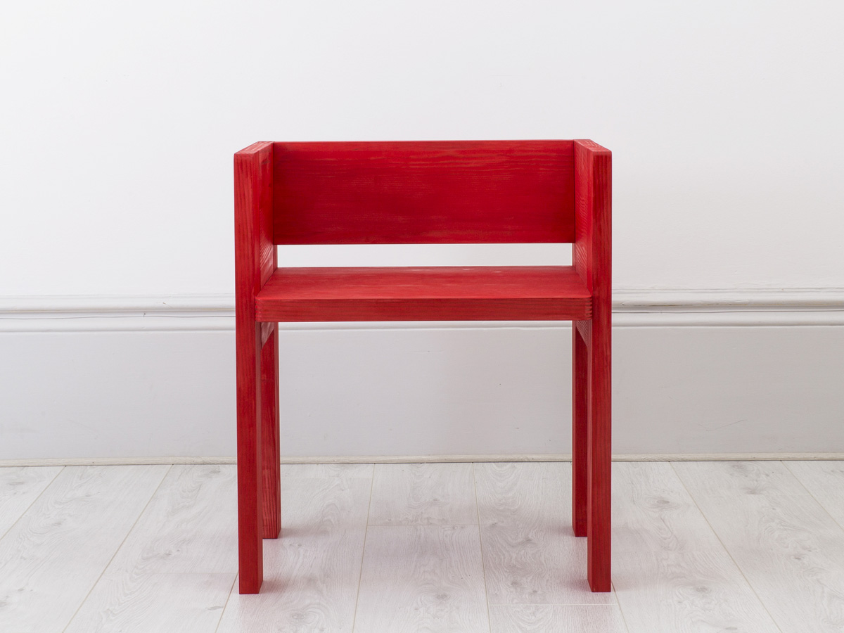 BF02-5 PEW CHAIR