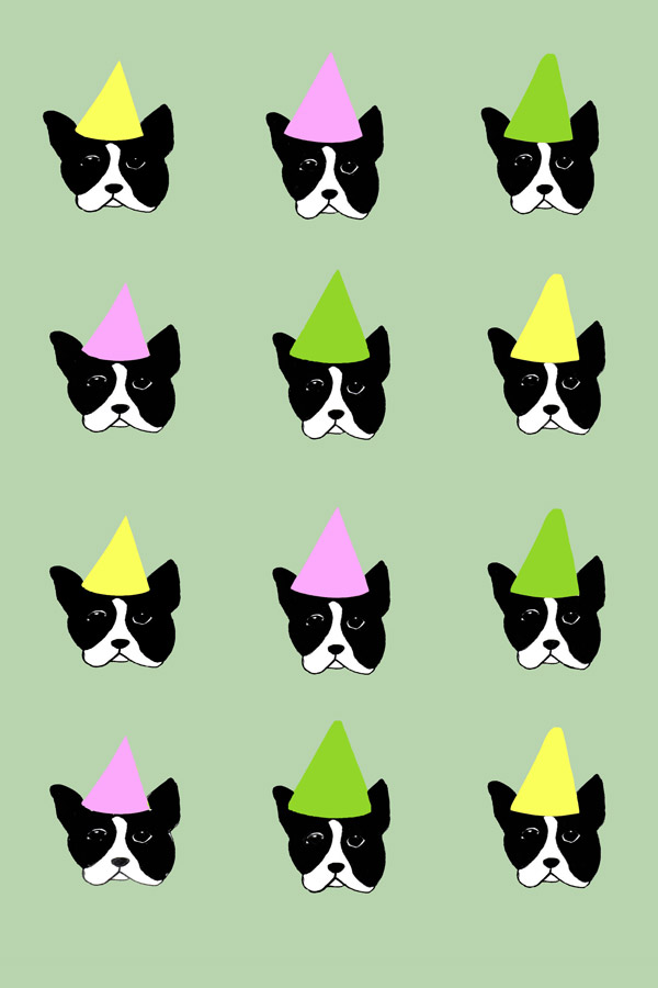 BOSTON TERRIER No.1 PRINT