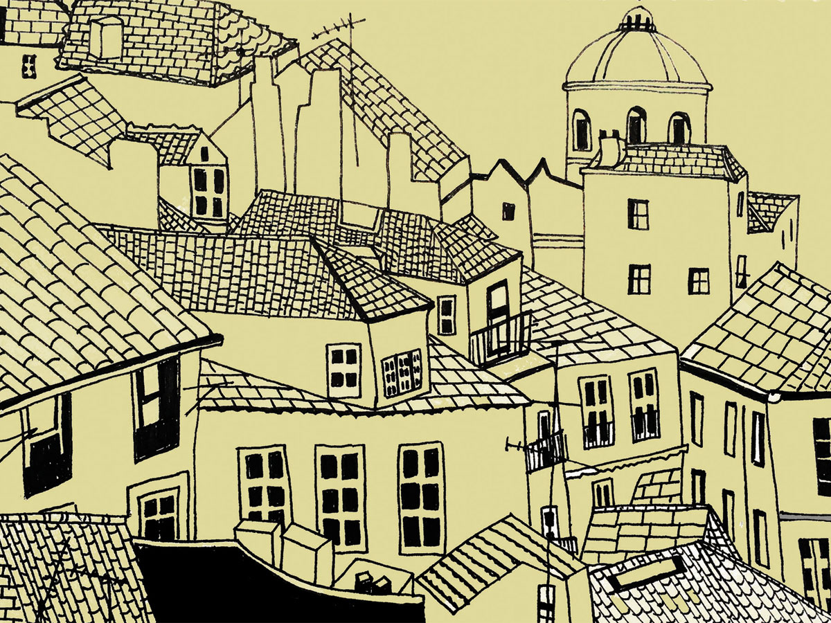 ROOFTOPS ILLUSTRATIONS