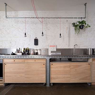 Hove Industrial Kitchen